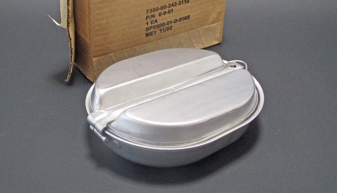 U.S. Military Mess Pan 携帯用食器セット