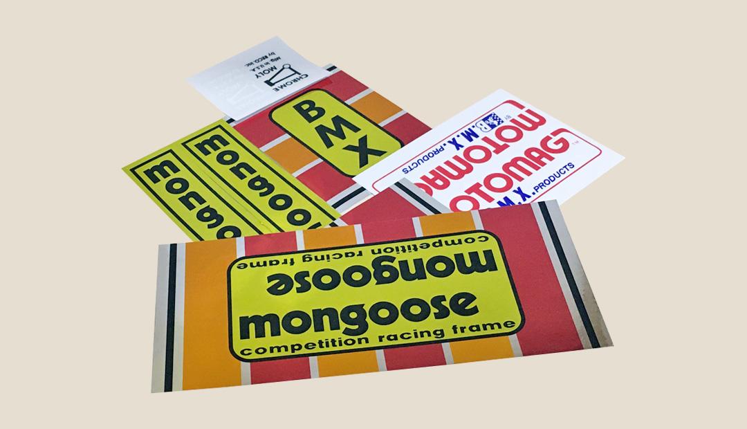 mongoose motomag デカール リプロダクション