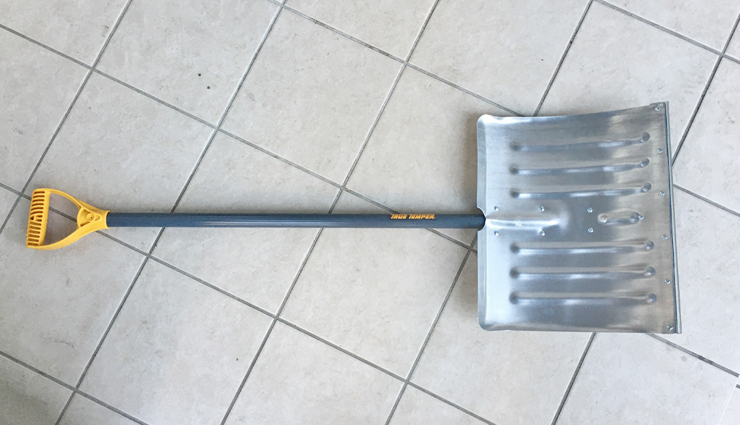True Temper 雪かき用 シャベル アメリカ製