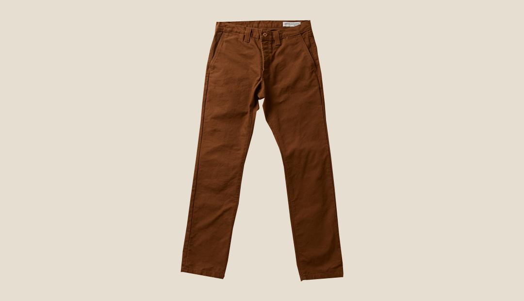 grown&sewn アメリカ製 パンツ